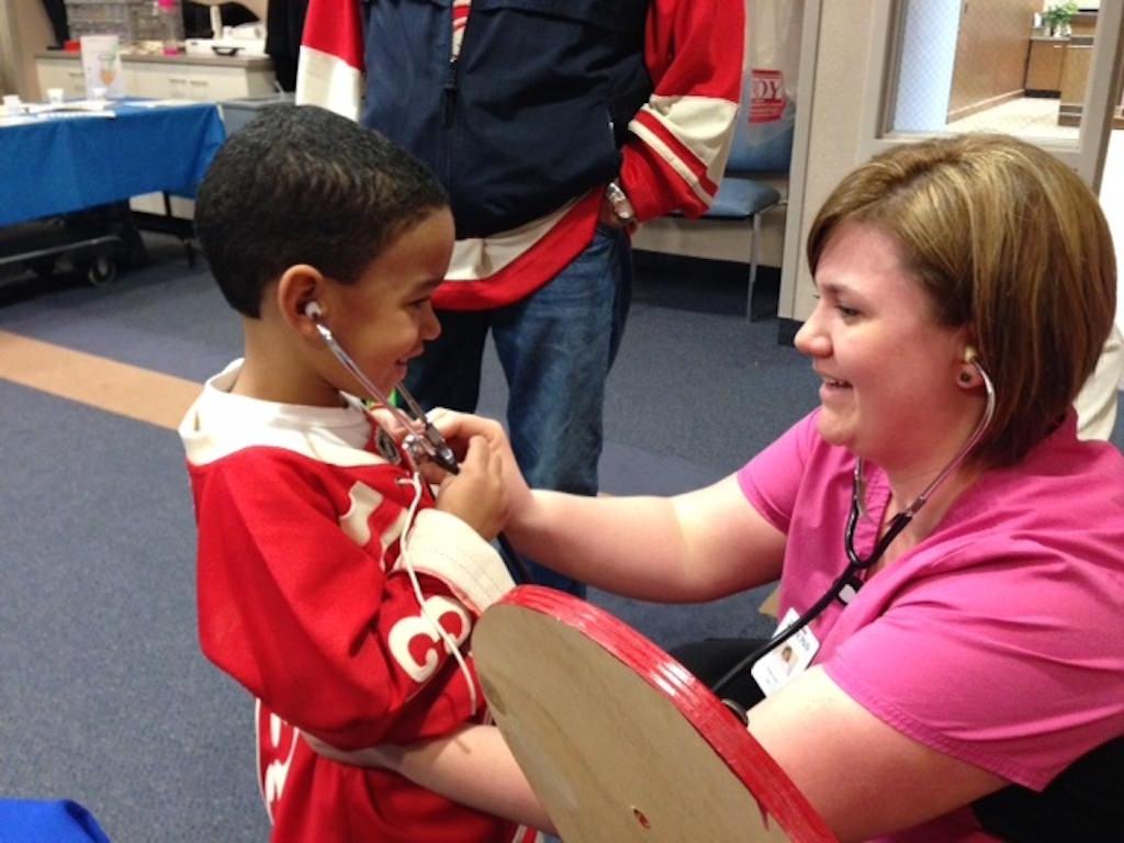 Ross Medical Education Center Port Huron McLaren Hospital Childrens Fun and Fitness Festival