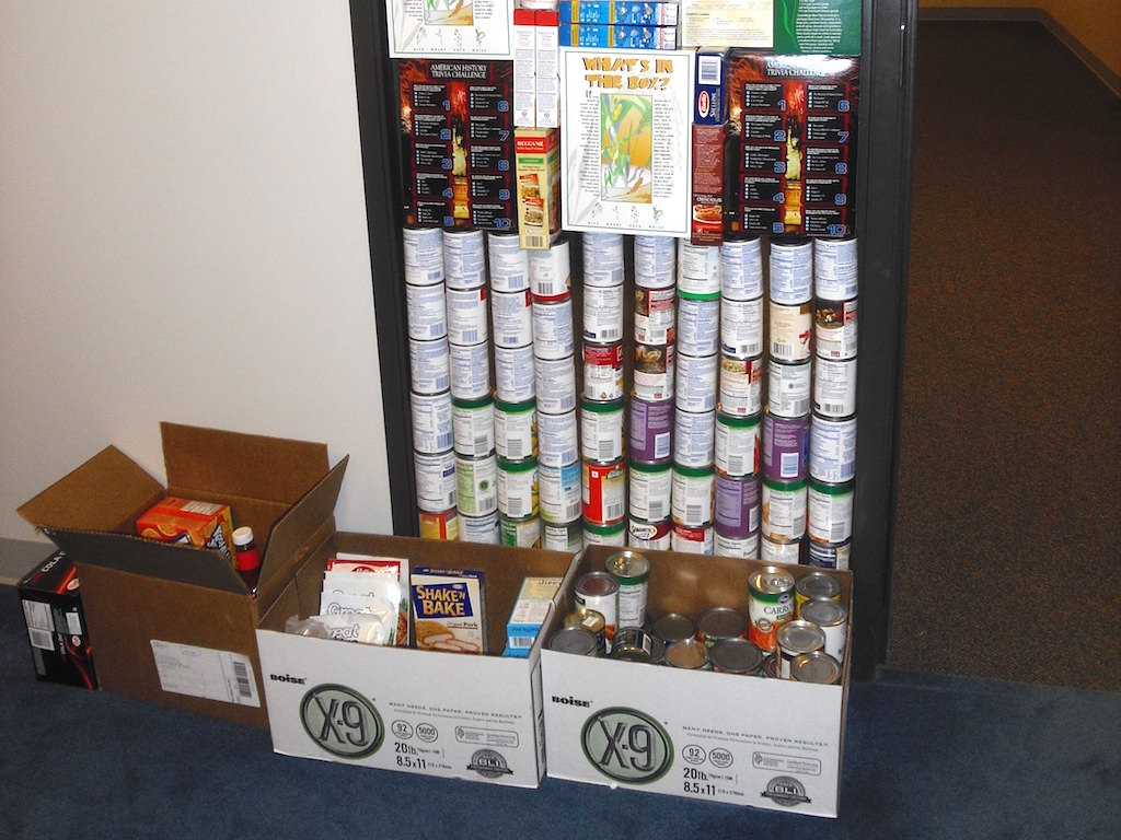 Ross Medical Education Center Port Huron New Baltimore Food Drive