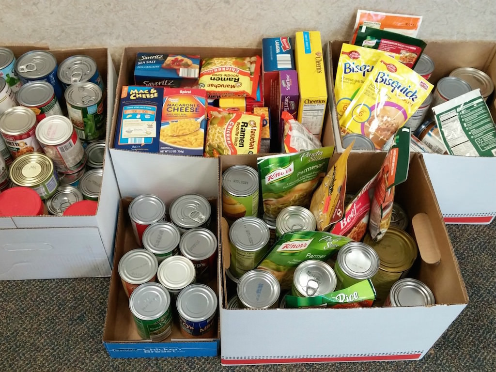 Ross Medical Education Center Ontario March 2015 Food Drive