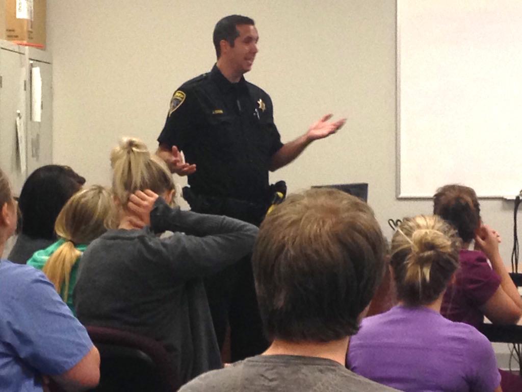 Ross Medical Education Center Brighton Officer Jason Davis Livingston County Sheriff Department