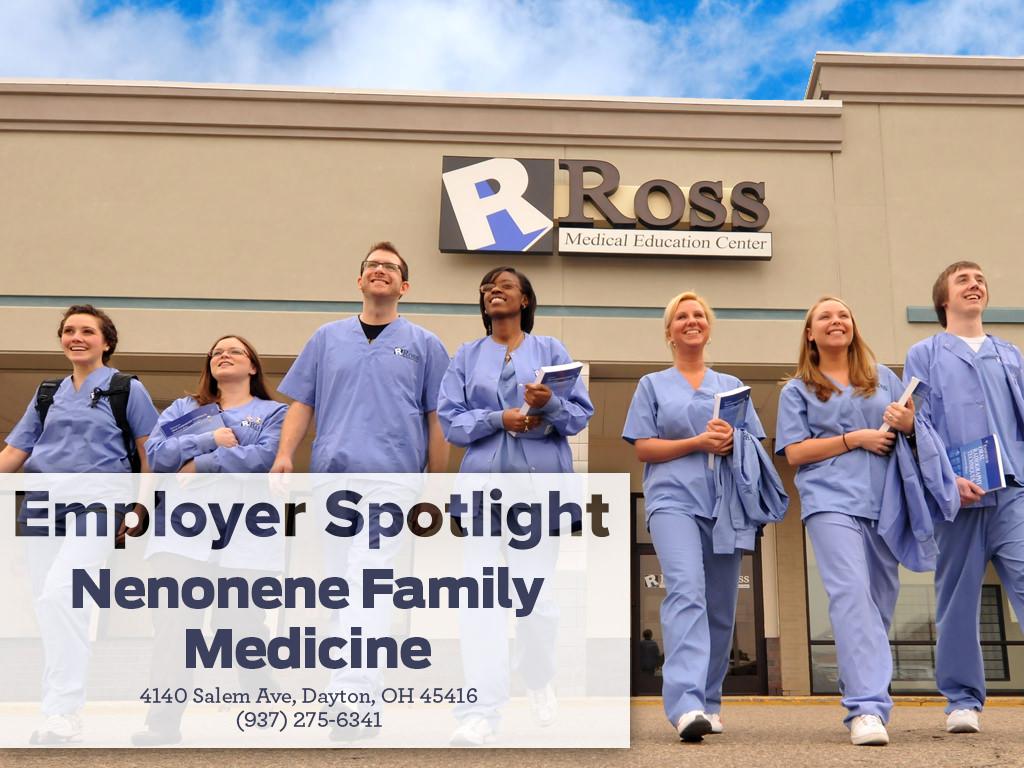 Employer Spotlight Neonene Family Medicine Ross Medical Education Center Dayton