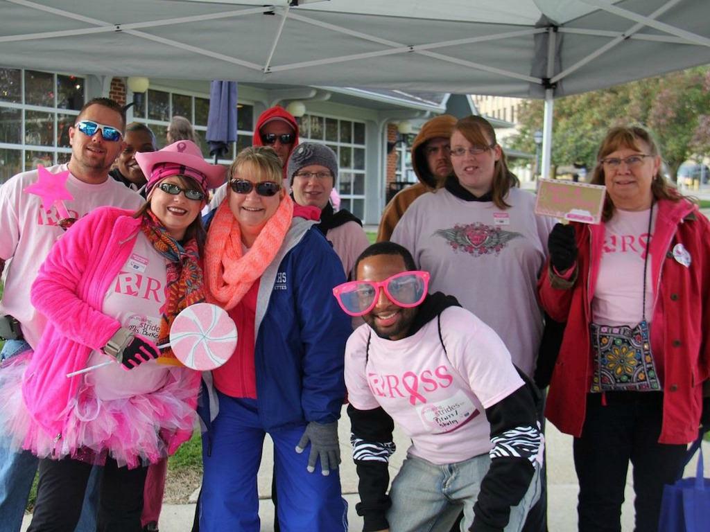 Ross Medical Education Center Ontario Making Strides Breast Cancer Walk Team
