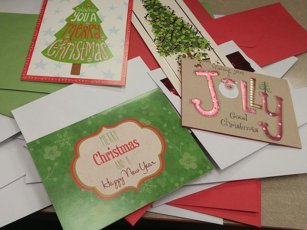 Ross Medical Education Center Ontario Operation Christmas Cards Valiant Veterans