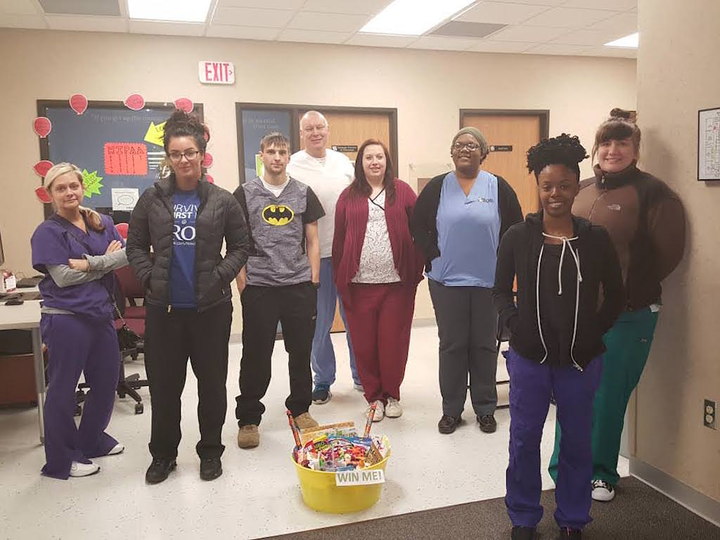Ross Medical Education Center Elyria Students Collect Food Harvest for Hunger