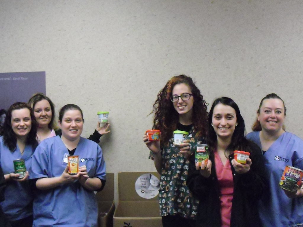 Ross Medical Education Center Food Drive Niles Second Harvest Food Bank