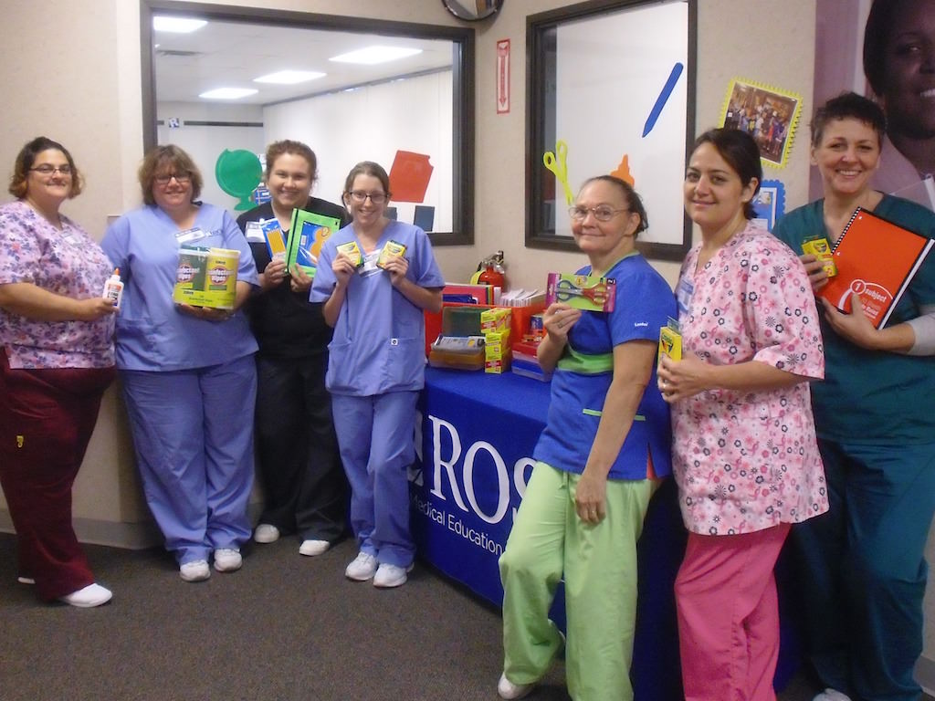 Ross Medical Education Center Port Huron Hosts School Supply Drive for East Shore Leadership Academy
