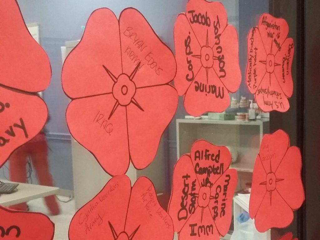 ross medical education center johnson city poppies for veterans day