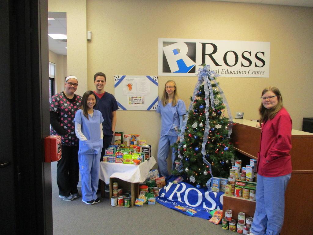 ross medical education center brighton food drive family impact center