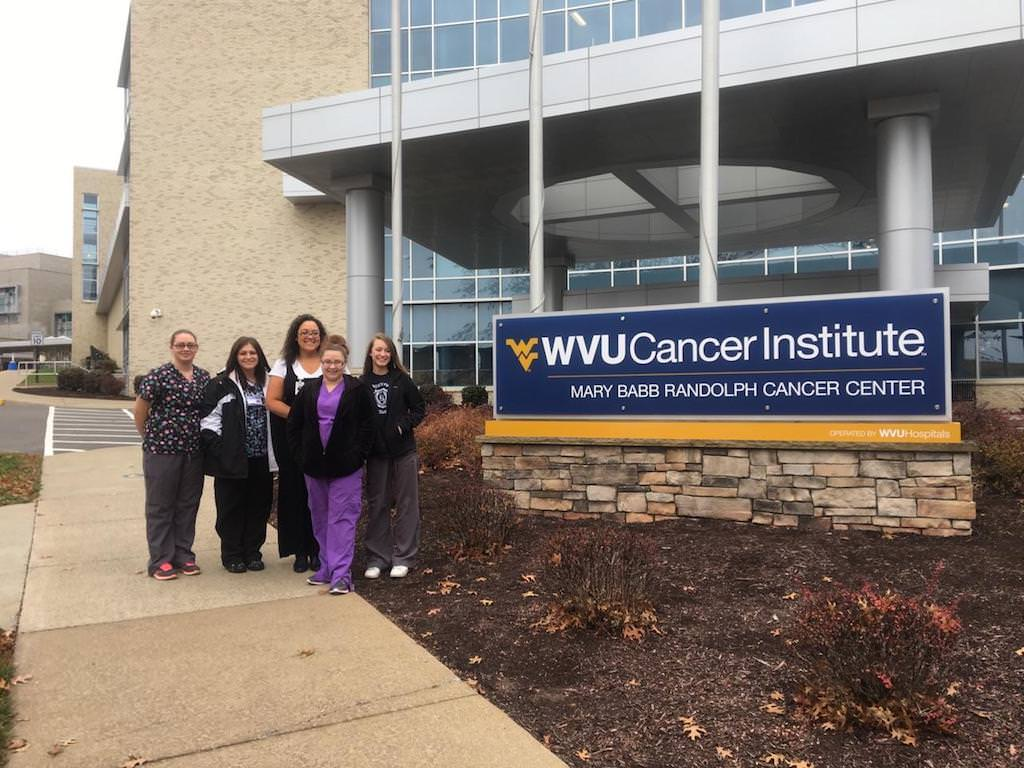 Ross Medical Education Center Morgantown Blankets for WVU Cancer Institute