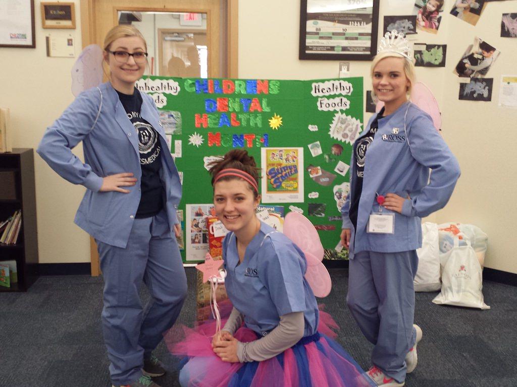 Ross Medical Education Center New Baltimore Dental Assistant Preschool Visit