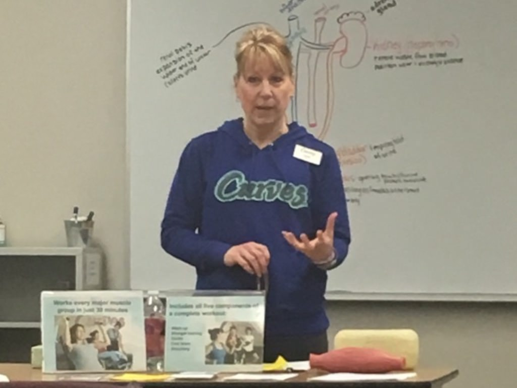 Ross Medical Education Center Port Huron Curves Club Speaker