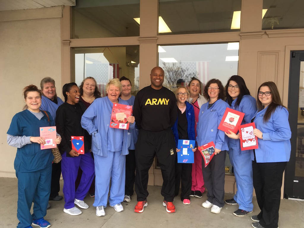 Ross Medical Education Center Bowling Green Valentines for Vets VA Clinic