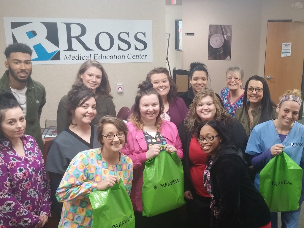 Ross Medical Education Center Fort Wayne Heart Health Expo