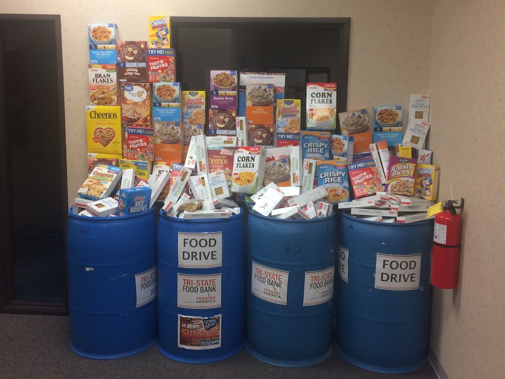 Ross Medical Education Center Evansville Supports Tri-State Food Bank