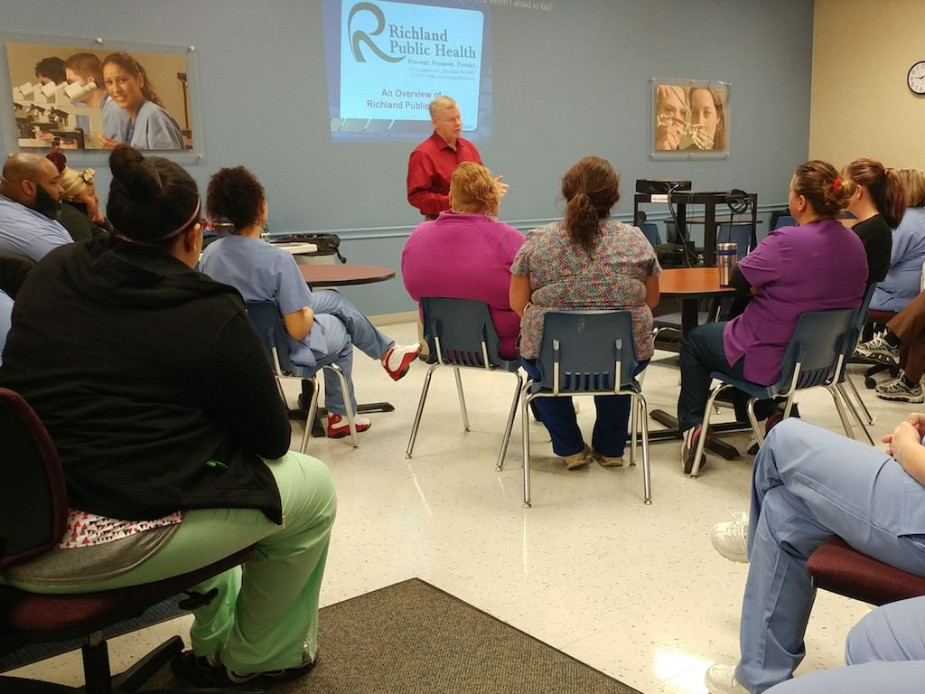 Ross Medical Education Center Ontario Richland Public Health Speaker