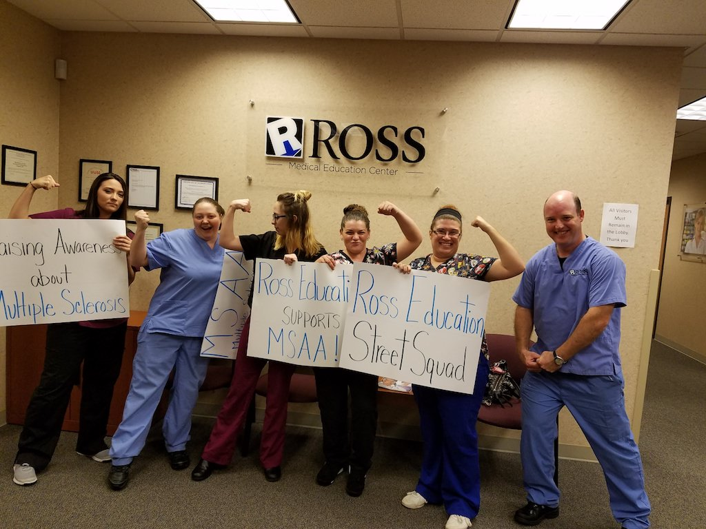 Ross Medical Education Center Morgantown MS Street Squad