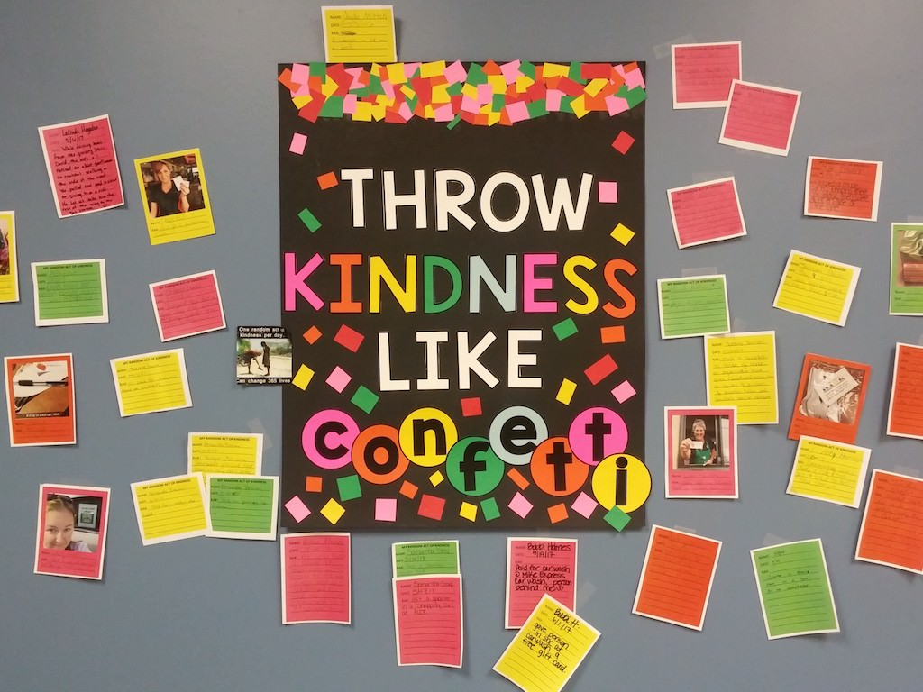 Ross Medical Education Center Lafayette Throw Kindness Like Confetti