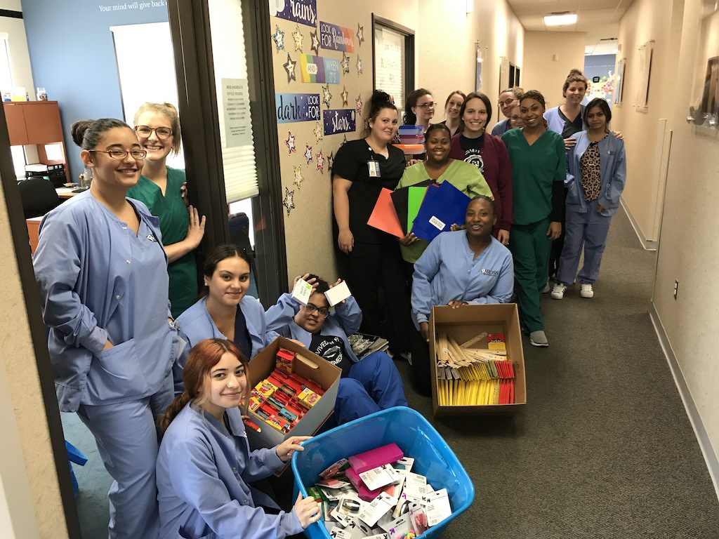 Ross Medical Education Center Kentwood School Supply Santa Drive