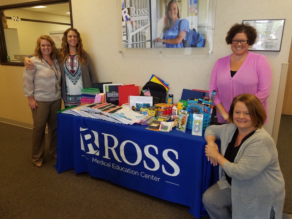 Ross Medical Education Center Portage Pig Out at Public Safety Event