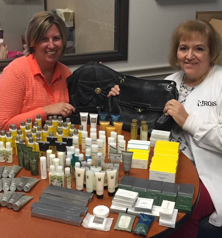 Ross Medical in Madison Heights Puts Together Handbags of Hope for Local Women