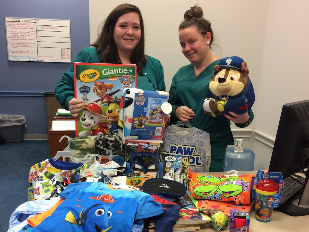 Ross Medical Education Center Charleston PICU Gifts