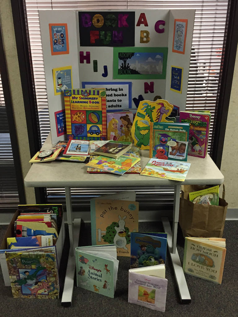 Ross Medical in Cincinnati Hosts Drive for Adopt a Book