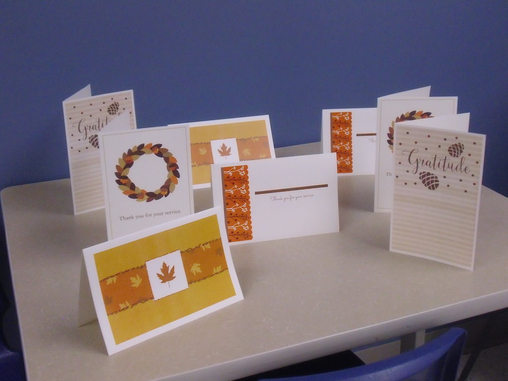 Ross Medical Education Center Port Huron Veterans Day Cards