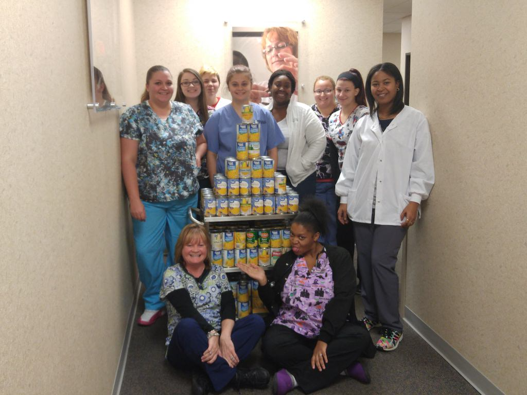 Ross Medical Education Center Erlanger Canned Food Drive