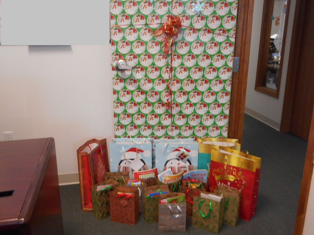 Ross Medical Education Center Midland Michigan Gives Gifts to MidMichigan Children