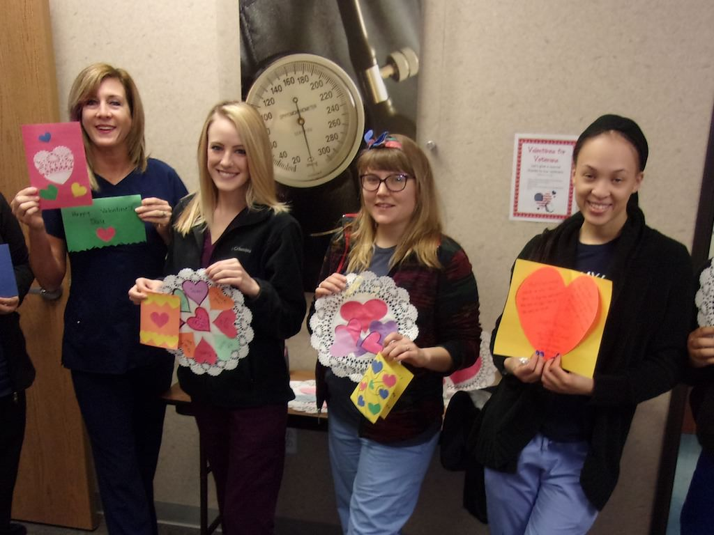 Ross Medical Education Center Ann Arbor Valentines for Veterans
