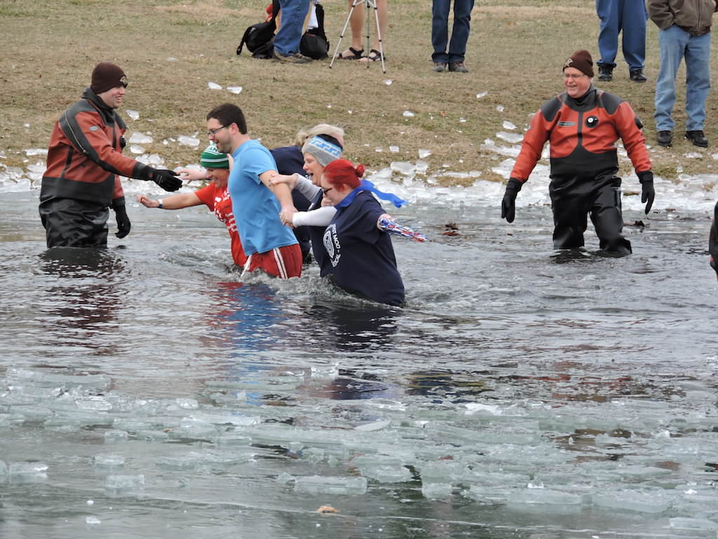 Ross Medical Education Center Kokomo Polar Plunge Special Olympics