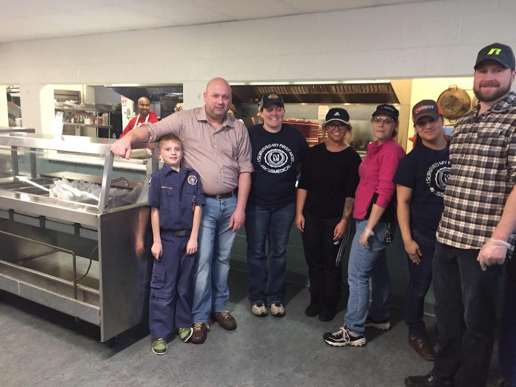 Ross Medical in Davison Serves Dinner at North End Soup Kitchen