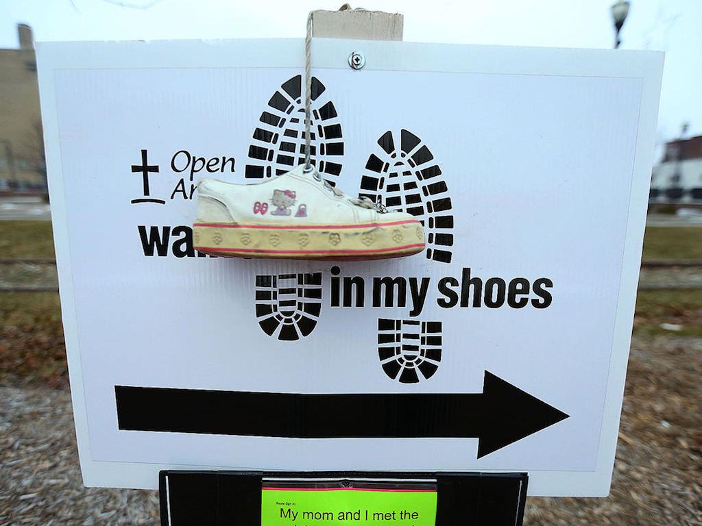 Ross Medical Education Center Kokomo Walk in My Shoes Fundraiser