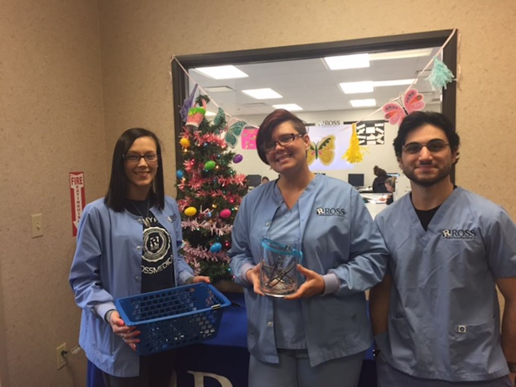 Ross Medical Education Center Knoxville Lions Club Eyeglasses Donation