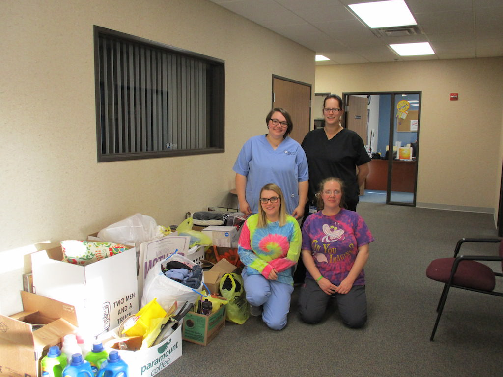 Ross Medical Education Center Davison Two Men and a Truck Movers for Moms 2018