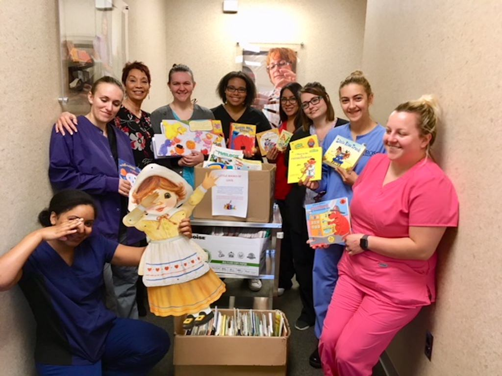 Ross Medical in Erlanger Collects Lil Books of Love