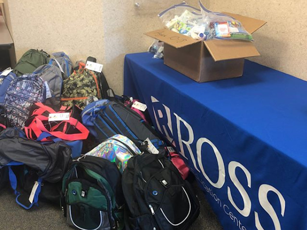 Ross Medical in Elyria Creates Comfort Cases for Local Foster Children