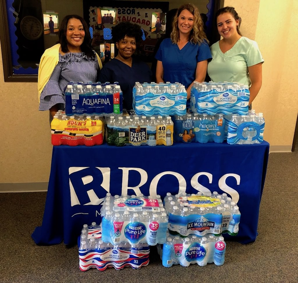 Ross Medical in Owensboro Gives Bottled Water to Habitat for Humanity
