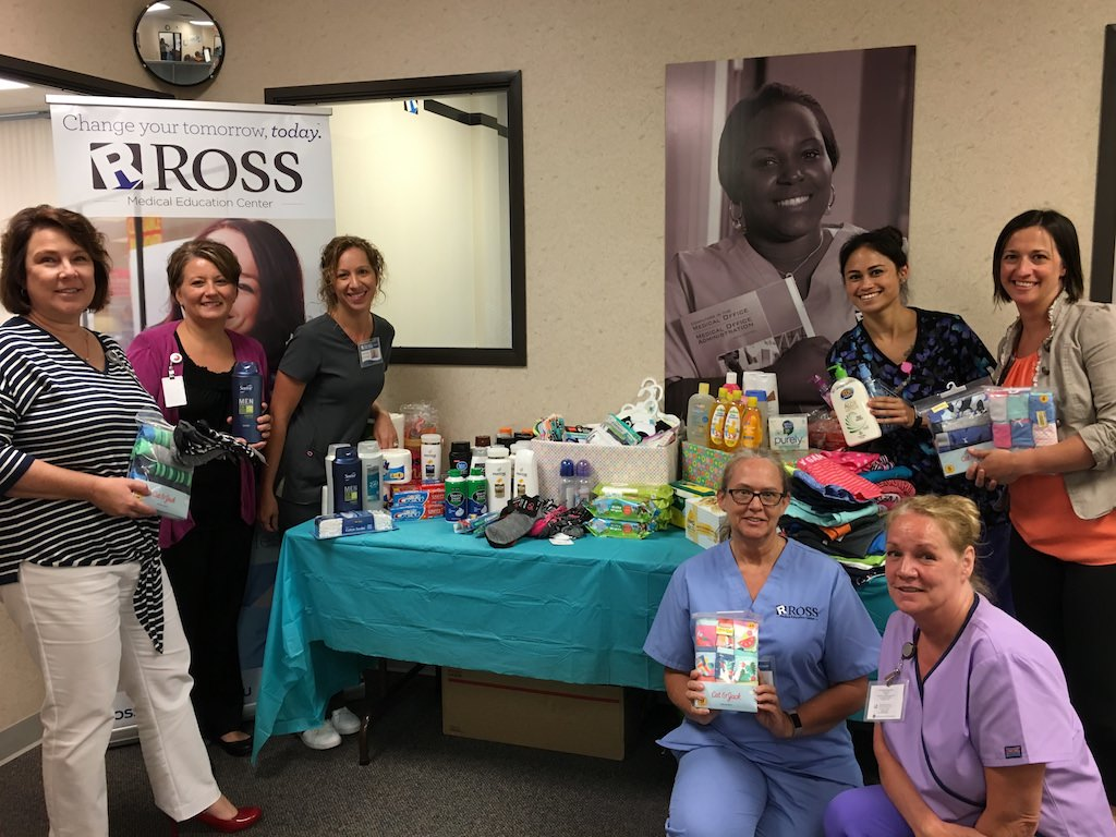 Ross Medical Education Center Port Huron Kids in Distress Summer Drive