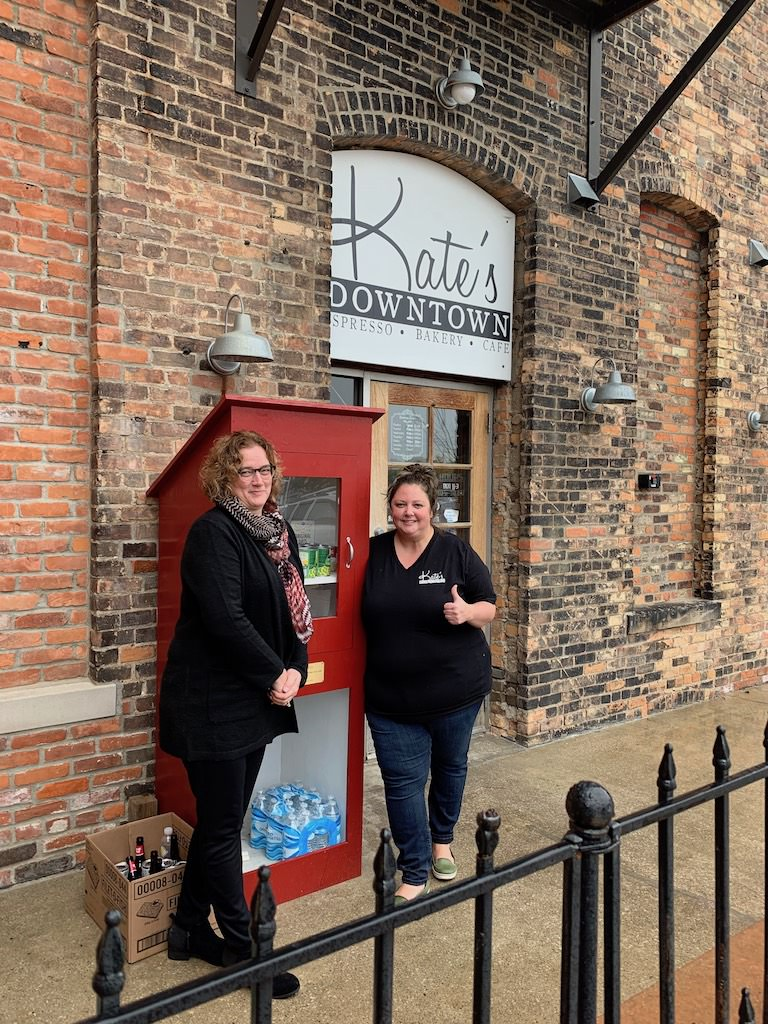 Ross Medical in Port Huron Helps Fill Local Little Red Pantry