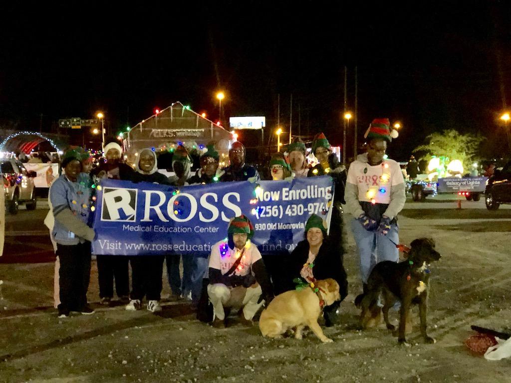 Ross Medical Education Center Huntsville Christmas Parade