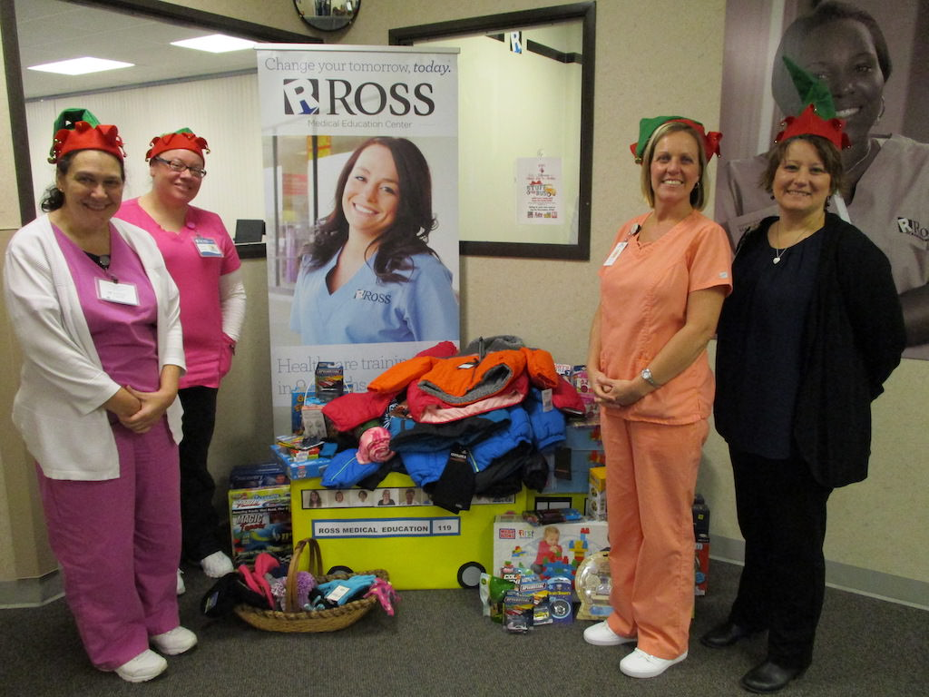 Ross Medical Education Center Port Huron KIDS Stuff the Bus