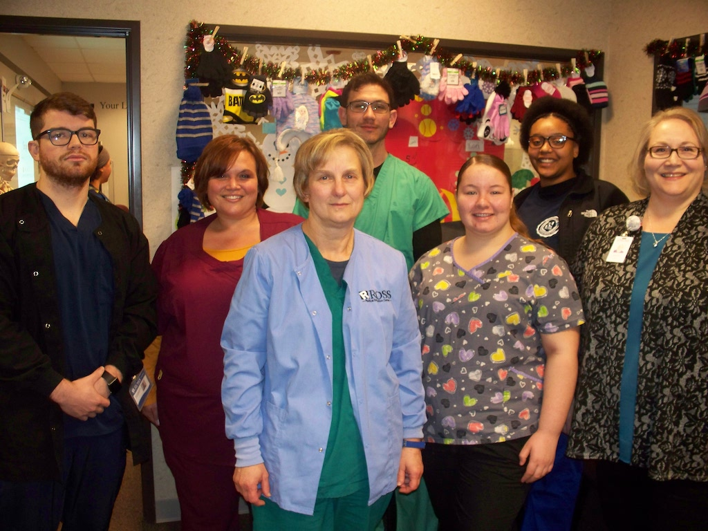 Ross Medical Lansing Collects Winter Gear for Kids
