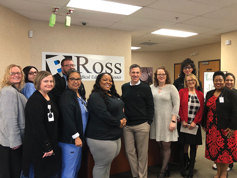 Ross Medical in Fort Wayne Welcomes Local Congressman