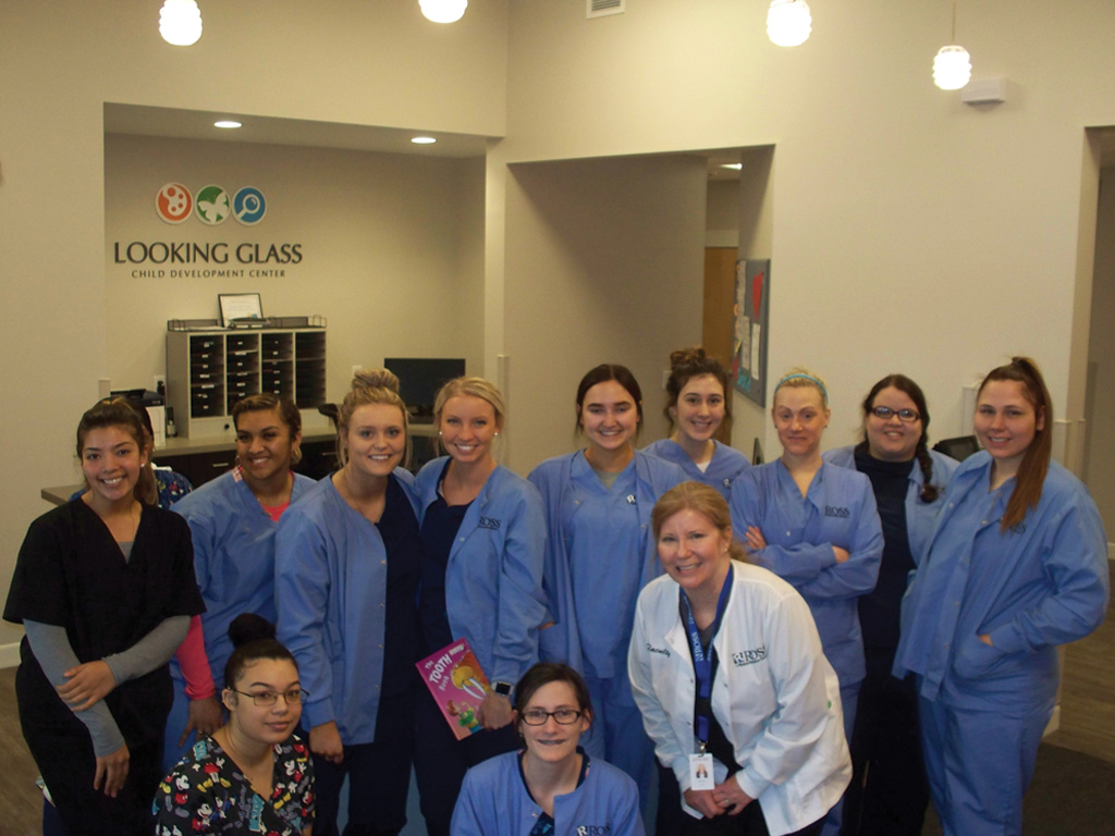 Ross Campuses Honor Children's Dental Health Month