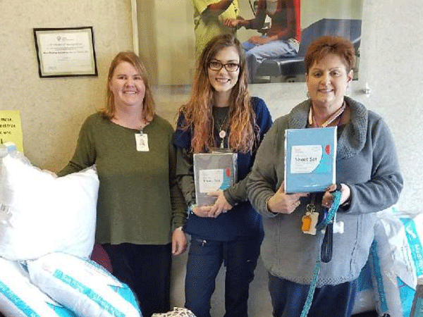 Huntsville Campus Collects Bedding for Sleep in Heavenly Peace