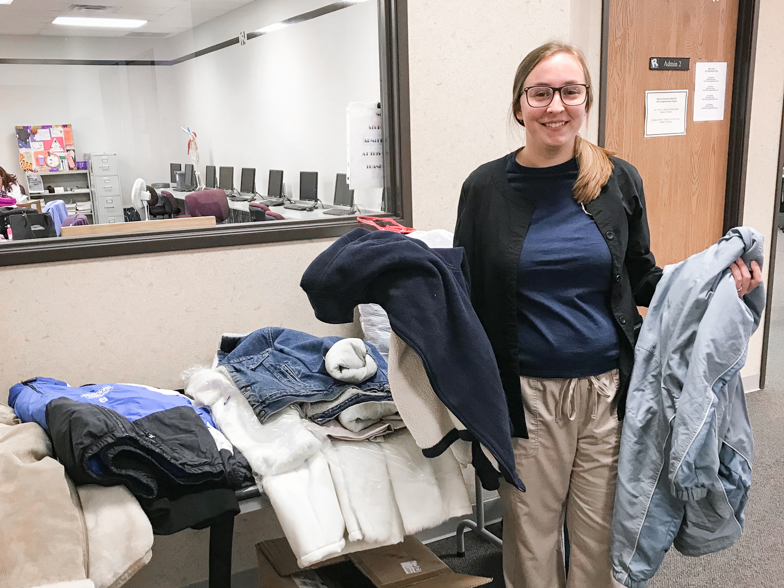 Ross Medical Education Center in Brighton Holds Coat Drive